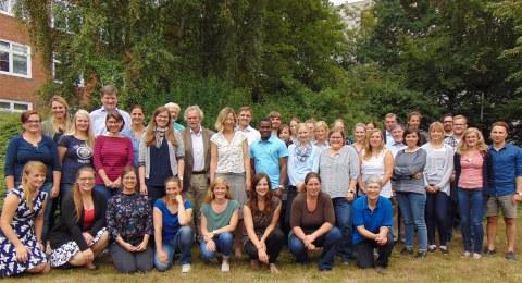 Team des Instituts für Tierzucht und Tierhaltung